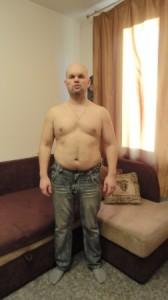 Борьба с лишним весом началась. Сброшено 7кг