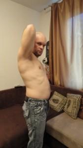 При моем не очень строгом похудении вроде как живот уменьшился