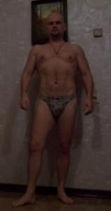 я во время занятий спортом при правильном мужском похудении